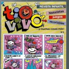 Tebeos: TIO VIVO ULTIMA EPOCA Nº 8 - BRUGUERA 1986 - UNICO EN TODOCOLECCION. Lote 212464022