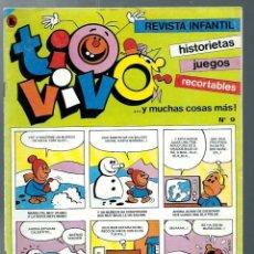 Tebeos: TIO VIVO ULTIMA EPOCA Nº 9 - BRUGUERA 1986 - UNICO EN TODOCOLECCION. Lote 212464051