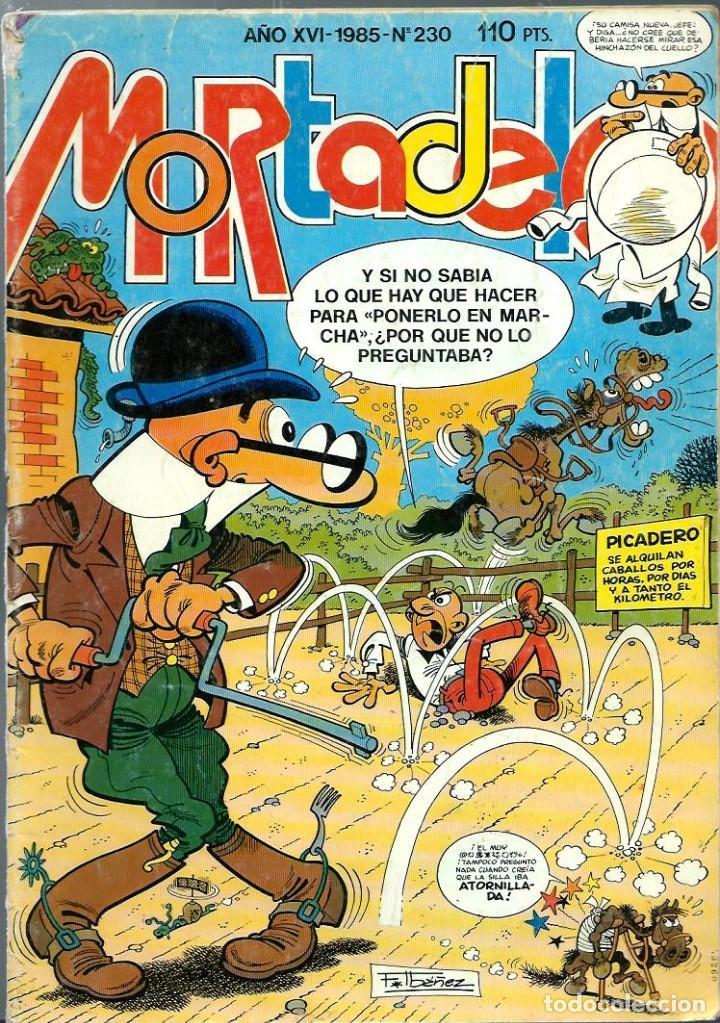 SUPER MORTADELO 230 - BRUGUERA 1985 (Tebeos y Comics - Bruguera - Mortadelo)