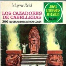 Tebeos: JOYAS LITERARIAS JUVENILES Nº 66 - LOS CAZADORES DE CABELLERAS - BRUGUERA 1973 1ª EDICION. Lote 212496388