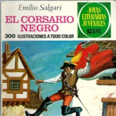 Tebeos: JOYAS LITERARIAS JUVENILES Nº 95 - EL CORSARIO NEGRO - BRUGUERA 1974 1ª EDICION. Lote 212498298