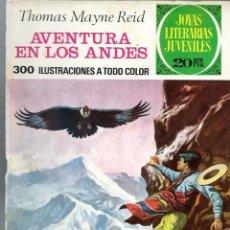 Tebeos: JOYAS LITERARIAS JUVENILES Nº 130 - AVENTURA EN LOS ANDES - BRUGUERA 1975 1ª EDICION. Lote 212500737