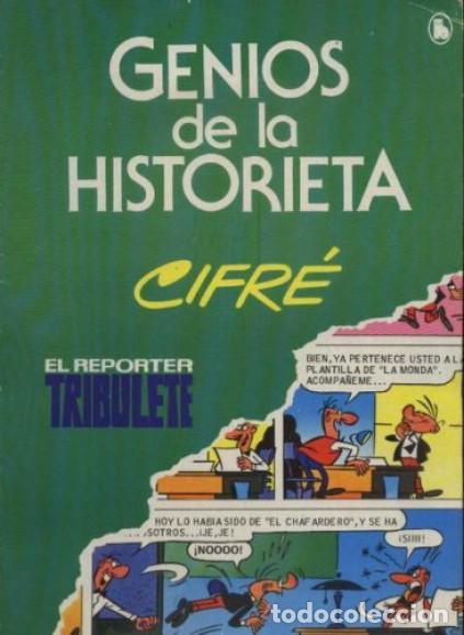 GENIOS DE LA HISTORIETA EL REPORTER TRIBULETE Nº 3 EDITORIAL BRUGUERA (Tebeos y Comics - Bruguera - Pulgarcito)