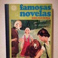 Tebeos: LIBRO - FAMOSAS NOVELAS BRUGUERA - COMIC - JULIO VERNE - EMILIO SALGARI - TOMO 11 XI. Lote 212879818