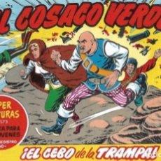 BDs: EL COSACO VERDE Nº 98. FACSÍMIL. PEDIDO MÍNIMO EN CÓMICS: 5 TÍTULOS. Lote 212939660