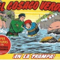 BDs: EL COSACO VERDE Nº 99. FACSÍMIL. PEDIDO MÍNIMO EN CÓMICS: 5 TÍTULOS. Lote 212939685