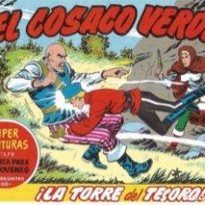BDs: EL COSACO VERDE Nº 100. FACSÍMIL. PEDIDO MÍNIMO EN CÓMICS: 5 TÍTULOS. Lote 212939721