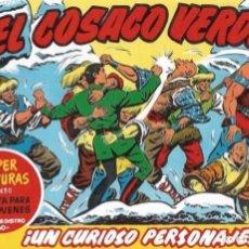 BDs: EL COSACO VERDE Nº 57. FACSÍMIL. PEDIDO MÍNIMO EN CÓMICS: 5 TÍTULOS. Lote 212939808