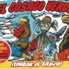Livros de Banda Desenhada: EL COSACO VERDE Nº 58. FACSÍMIL.P MÍNIMO EN CÓMICS: 5 TÍTULOS. Lote 212939837