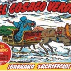 Livros de Banda Desenhada: EL COSACO VERDE Nº 59. FACSÍMIL. PEDIDO MÍNIMO EN CÓMICS: 5 TÍTULOS. Lote 212939860