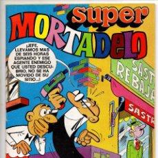 Tebeos: SUPER MORTADELO Nº 18 (BRUGUERA 1973) CON RIC HOCHET Y SUPERNOVA.. Lote 212942440