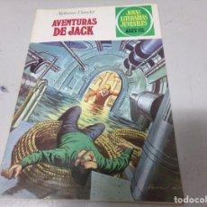 Tebeos: ALPHONSE DAUDET -AVENTURAS DE JACK- 35 PTS AÑO 1979 EDITORIAL BRUGUERA NO 89. Lote 213191648