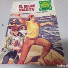 Tebeos: EL BUQUE MALDITO, EMILIO SALGARI, JOYAS LITERARIAS JUVENILES, Nº 226. Lote 213193062