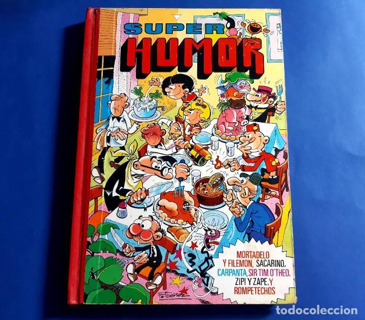 SUPER HUMOR TOMO NUMEROS ROMANOS XXX (30). 3 EDICION 1985 (Tebeos y Comics - Bruguera - Super Humor)