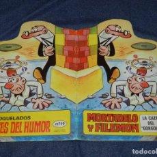 Tebeos: (M0) FRANCISCO IBAÑEZ - MORTADELO Y FILEMON LA CAZA DEL GORGOJO, EDT BRUGUERA 1971. Lote 213240681