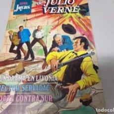 Tebeos: SUPER JOYAS DE JULIO VERNE Nº 13: UN DRAMA EN LIVONIA, HECTOR SERVADAC Y NORTE CONTRA SUR - JULIO VE. Lote 213265202