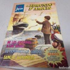 Tebeos: SUPER JOYAS DE EDMUNDO D´AMICIS Nº 1 BRUGUERA 1977. Lote 213267261