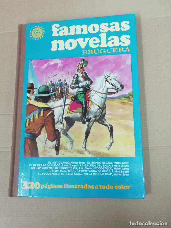 FAMOSAS NOVELAS- VOLUMEN XVIII (Tebeos y Comics - Bruguera - Otros)