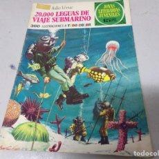 Tebeos: 20.000 LEGUAS DE VIAJE SUBMARINO - JULIO VERNE, Nº 4, JOYAS LITERARIAS JUVENILES. Lote 213273341