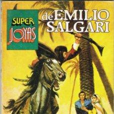 Tebeos: SUPER JOYAS NUMERO 51 EMILIO SALGARI. EL CONTINENTE MISTERIOSO, EN LAS MONTAÑAS DE AFRICA, AVENTURAS. Lote 213327808