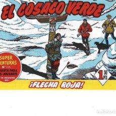 BDs: EL COSACO VERDE Nº 89. FACSÍMIL. PEDIDO MÍNIMO EN CÓMICS: 5 TÍTULOS. Lote 213325372