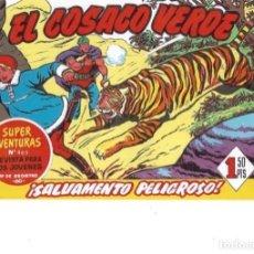 Livros de Banda Desenhada: EL COSACO VERDE Nº 62. FACSÍMIL. PEDIDO MÍNIMO EN CÓMICS: 5 TÍTULOS. Lote 213325723