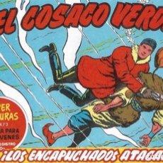 Livros de Banda Desenhada: EL COSACO VERDE Nº 64. FACSÍMIL. PEDIDO MÍNIMO EN CÓMICS: 5 TÍTULOS. Lote 213325801
