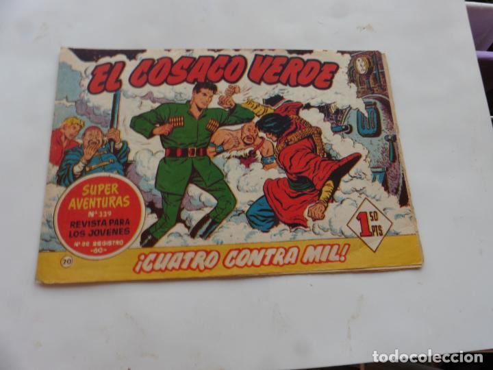 COSACO VERDE Nº 20 ORIGINAL (Tebeos y Comics - Bruguera - Cosaco Verde)