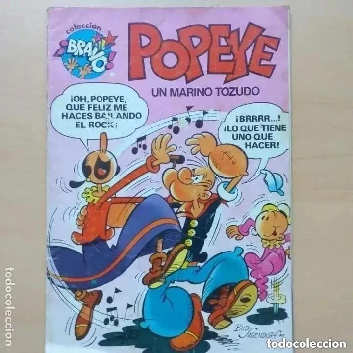 POPEYE. UN MARINO TOZUDO NUM 3 (Tebeos y Comics - Bruguera - Otros)