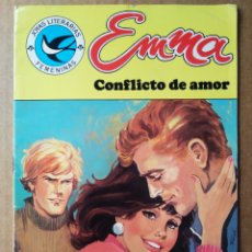 Tebeos: EMMA: CONFLICTO DE AMOR/JOYAS LITERARIAS FEMENINAS N°105 (BRUGUERA). ANDREU MARTÍN Y TRINI TINTURÉ. Lote 213574721