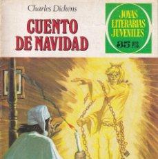 Tebeos: JOYAS LITERARIAS JUVENILES NUMERO 90 CUENTO DE NAVIDAD. Lote 213591221