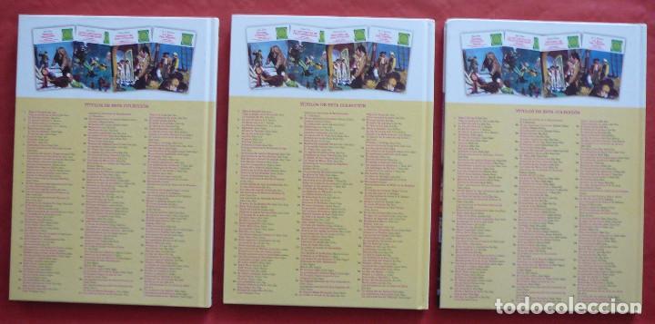 Tebeos: JOYAS LITERARIAS JUVENILES Nº 1, 2 Y 3 (Julio Verne, R.L. Stevenson y Emilio Salgari) – Año 2009 - Foto 3 - 213601955