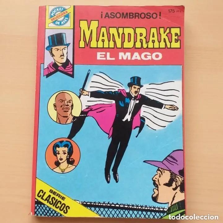 MANDRAKE EL MAGO - ¡ASOMBROSO! NUM 33 BRUGUERA POCKET DE ASES (Tebeos y Comics - Bruguera - Otros)