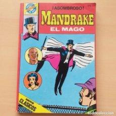 Tebeos: MANDRAKE EL MAGO - ¡ASOMBROSO! NUM 33 BRUGUERA POCKET DE ASES. Lote 213609667