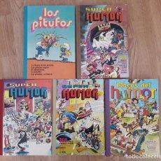Giornalini: SUPER HUMOR Y LOS PITUFOS -BRUGUERA. Lote 213634772