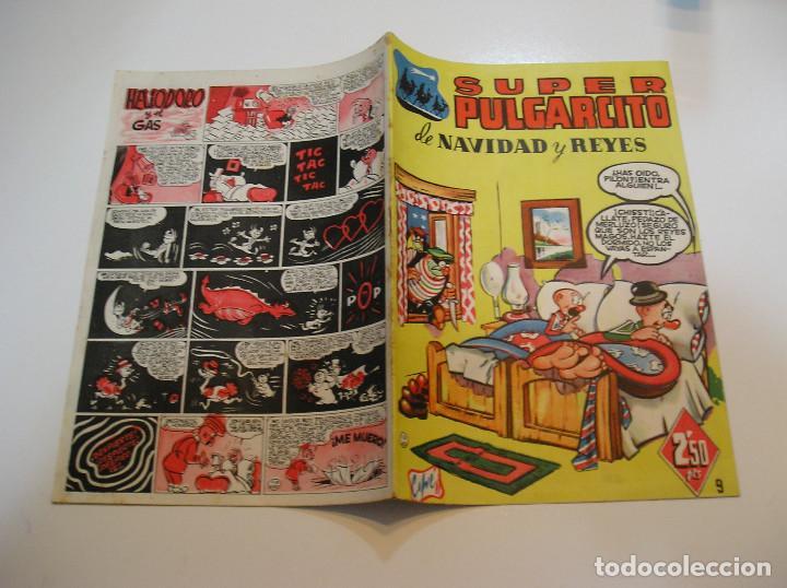 Tebeos: SUPER PULGARCITO , Nº 9 NAVIDAD Y REYES 1949 , ORIGINAL BRUGUERA MUY BUEN ESTADO - Foto 2 - 213677791