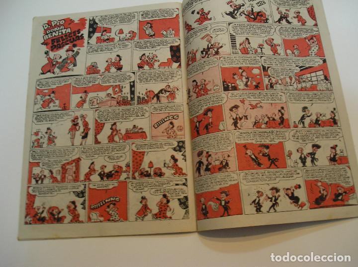 Tebeos: SUPER PULGARCITO , Nº 9 NAVIDAD Y REYES 1949 , ORIGINAL BRUGUERA MUY BUEN ESTADO - Foto 6 - 213677791