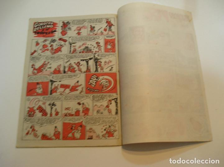 Tebeos: SUPER PULGARCITO , Nº 9 NAVIDAD Y REYES 1949 , ORIGINAL BRUGUERA MUY BUEN ESTADO - Foto 7 - 213677791