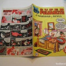 Tebeos: SUPER PULGARCITO , Nº 9 NAVIDAD Y REYES 1949 , ORIGINAL BRUGUERA MUY BUEN ESTADO. Lote 213677791