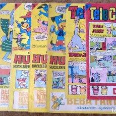 Tebeos: TELE COLOR Nº 115, 129, 134, 141, 149, 175, 239 Y 251 (BRUGUERA 1.965/67) 8 TEBEOS.. Lote 198064900