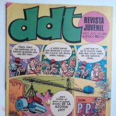 Tebeos: DDT-III ÉPOCA- Nº 389 -LUCKY LUKE-RIC HOCHET-ASTÉRIX-TRAVER-1974-DIFÍCIL-BUENO-LEAN-3430. Lote 213694617
