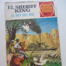 BDs: GRANDES AVENTURAS JUVENILES Nº 51 - EL SHERIFF KING - EL REY DEL RIO - BRUGUERA 1973 - DIFICILCX63. Lote 213723546