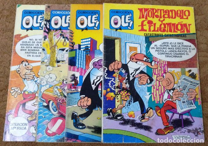 OLE Nº 88 (BRUGUERA 5ª EDICION 1982), 95, 166 Y 280 (BRUGUERA 1ª EDICION 1974/78/83) 4 EJEMPLARES. (Tebeos y Comics - Bruguera - Ole)