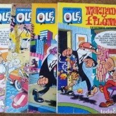 Tebeos: OLE Nº 88 (BRUGUERA 5ª EDICION 1982), 95, 166 Y 280 (BRUGUERA 1ª EDICION 1974/78/83) 4 EJEMPLARES.. Lote 198157381