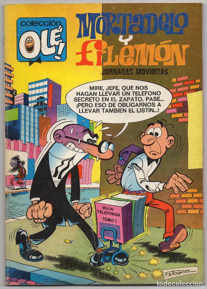 Tebeos: OLE nº 88 (Bruguera 5ª edicion 1982), 95, 166 y 280 (Bruguera 1ª edicion 1974/78/83) 4 ejemplares. - Foto 5 - 198157381