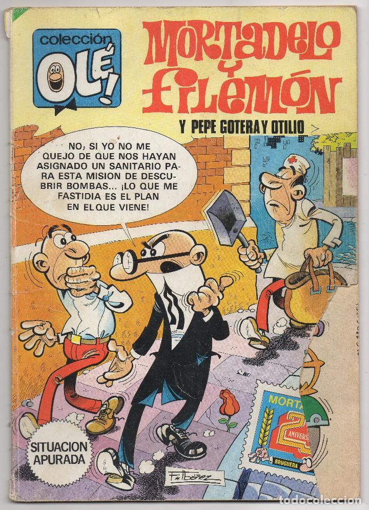 Tebeos: OLE nº 88 (Bruguera 5ª edicion 1982), 95, 166 y 280 (Bruguera 1ª edicion 1974/78/83) 4 ejemplares. - Foto 11 - 198157381