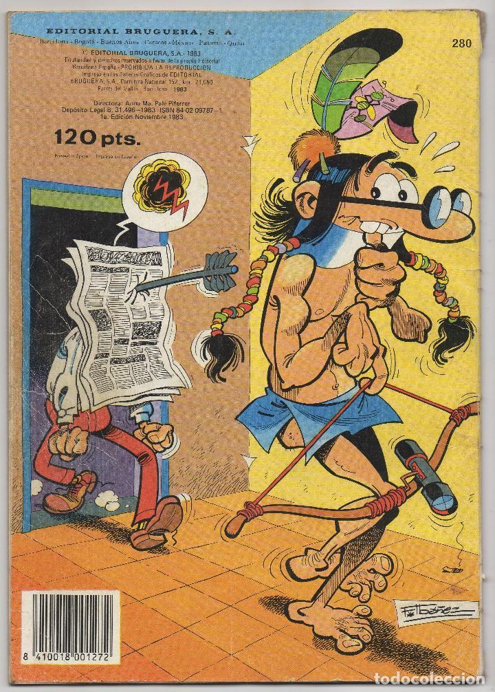 Tebeos: OLE nº 88 (Bruguera 5ª edicion 1982), 95, 166 y 280 (Bruguera 1ª edicion 1974/78/83) 4 ejemplares. - Foto 13 - 198157381