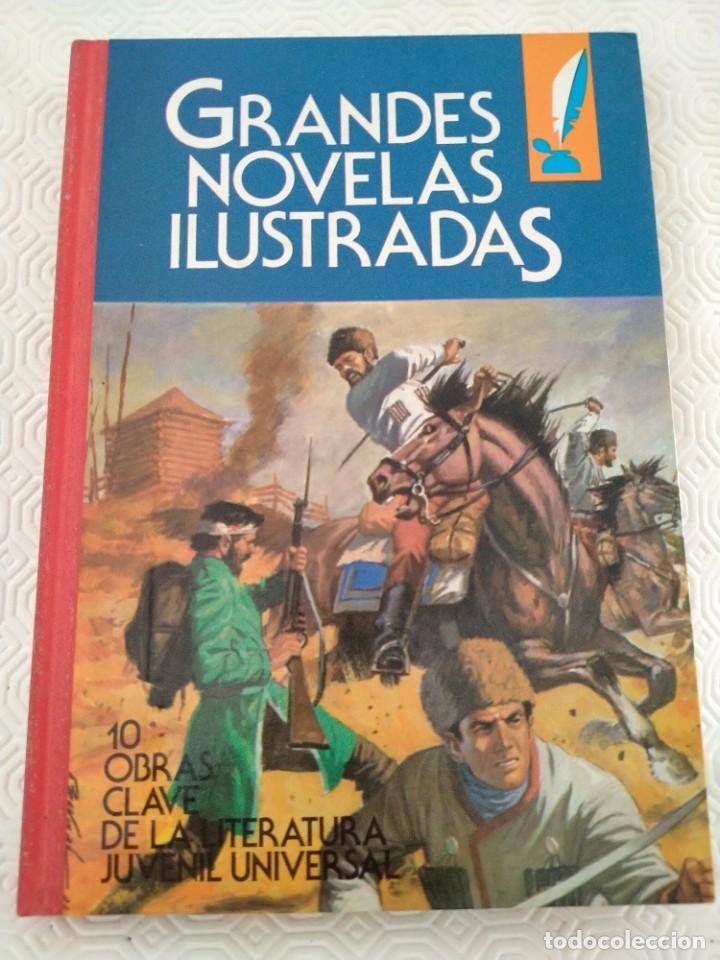 GRANDES NOVELAS ILUSTRADAS. 1. EDITORIAL BRUGUERA, 1ª EDICION 1984. 10 OBRAS CLAVE DE LA LITERATURA (Tebeos y Comics - Bruguera - Otros)