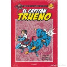 Tebeos: EL CAPITAN TRUENO. 60 ANIVERSARIO. EDICION COLECCIONISTA 34. LA GRUTA DEL TERROR. SALVAT.. Lote 213827385