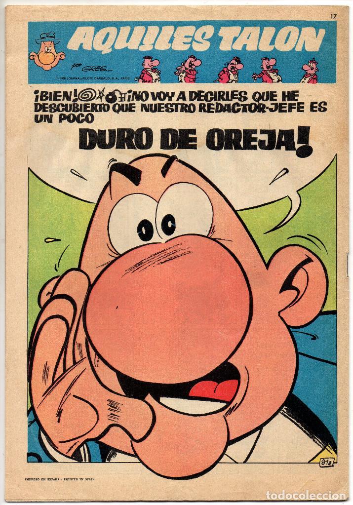 Tebeos: BRAVO nº 6, 9, 17, 27, 29, 35, 37, 38 y 41 (Bruguera 1968) 9 tebeos. - Foto 7 - 198366058